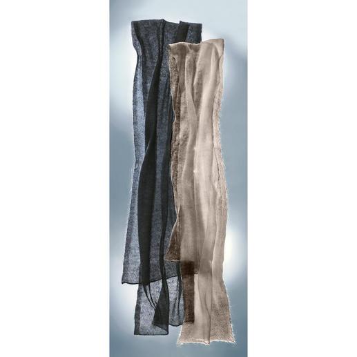 Foulard aérien Votre foulard probablement le plus raffiné et le plus délicat ne pèse que 20grammes.