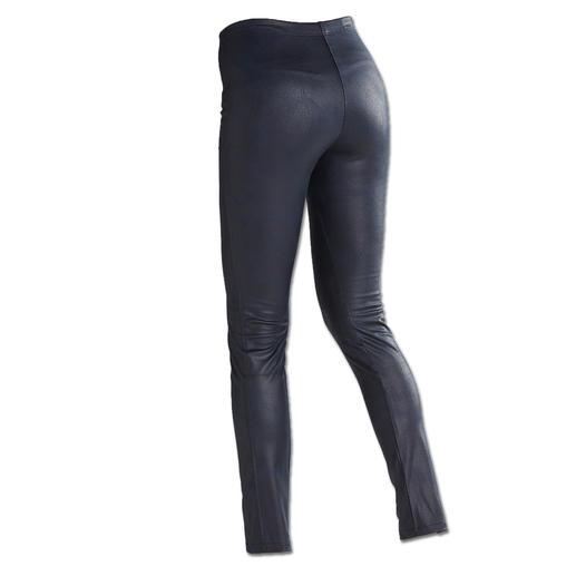 Legging « faux cuir » Janice & Jo L'aspect du cuir véritable à s'y méprendre. Une forme parfaite. Un bon prix.