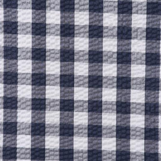 Chemise à carreaux Seersucker Ingram Tissu seersucker aérien. Motif à carreaux classique. Et pourtant pas trop sportif. Par Ingram.
