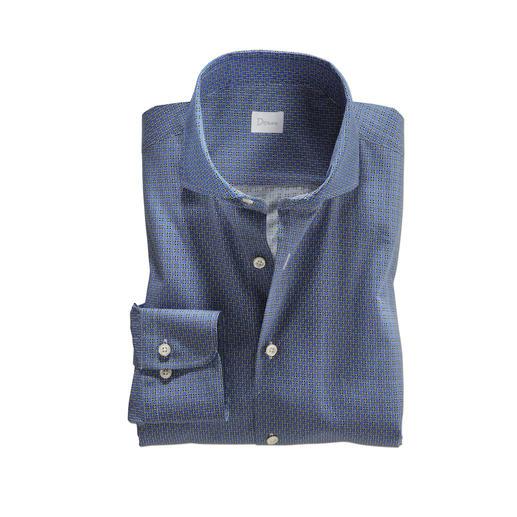 Chemise graphique Dorani Look mode et élégance, facile à associer avec un costume. Par le chemisier Dorani.