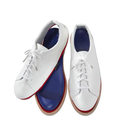 Chaussures variables « Johnny & Jessy » 1 paire de chaussures – 2 styles : espadrilles décontractées en toile canevas ou mocassins élégants en cuir.