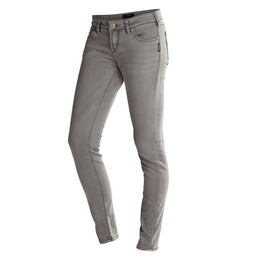 Jean Joga™ Silver®, Gris L'allure d'un jean authentique et le confort d'un pantalon yoga.