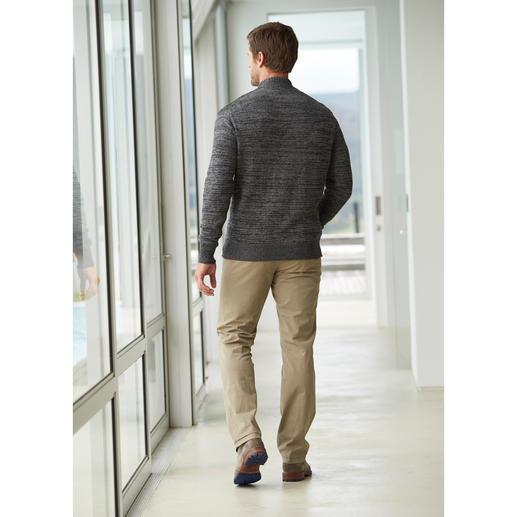 Veste zippée en lin Inis Meáin La preuve qu'une veste en tricot peut tout à fait conjuguer fraîcheur et style.