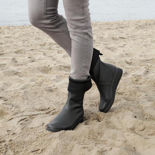 Bottes en caoutchouc pliable Tretorn La botte en caoutchouc qui voyage. 100 % étanche, flexible, légère et même pliable. Par Tretorn.