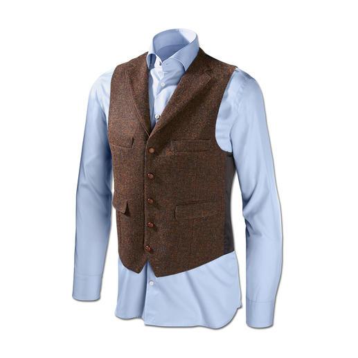 Veston ou Veste en tweed Harris de Carl Gross Le tweed Harris original des Hébrides extérieures, mais bien plus fin et léger que la normale.