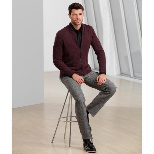 Pantalon Prince de Galles Hoal Indémodable et néanmoins furieusement tendance. Le véritable motif d'Angleterre.