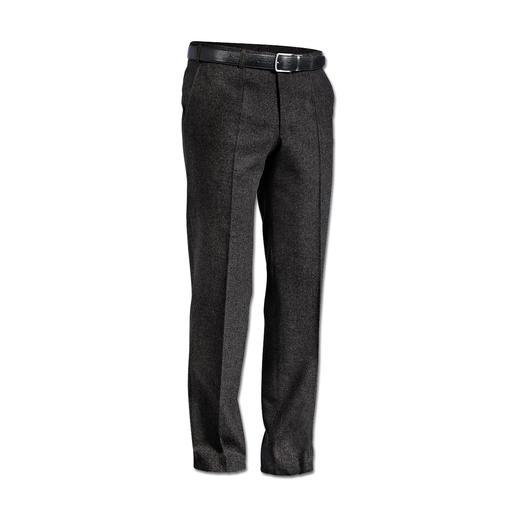 Pantalon en loden léger Hoal Élégant et confortable comme un pantalon en toile classique. Mais aussi coupe-vent et hydrofuge.