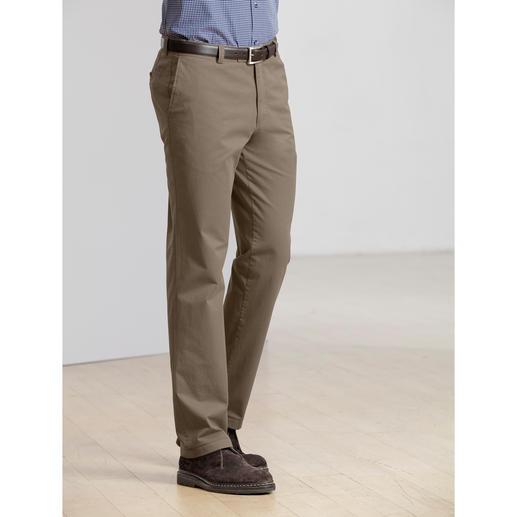 Pantalon chino en coton Pima Du coton Pima rare. Une coupe parfaite. Un prix raisonnable.