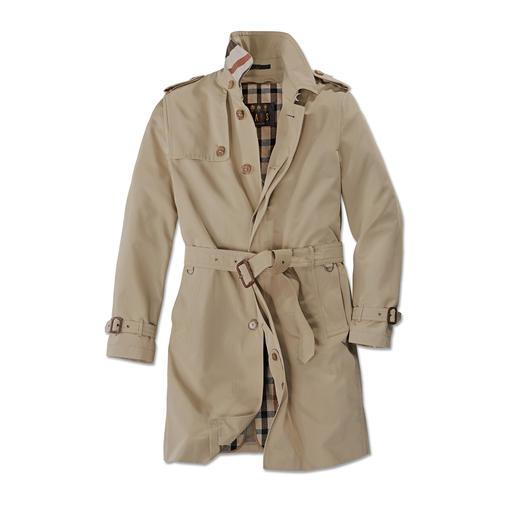 Trench-coat DAKS, Homme Le véritable trench-coat de DAKS, London – Fournisseur auprès de la Cour Royale d'Angleterre.