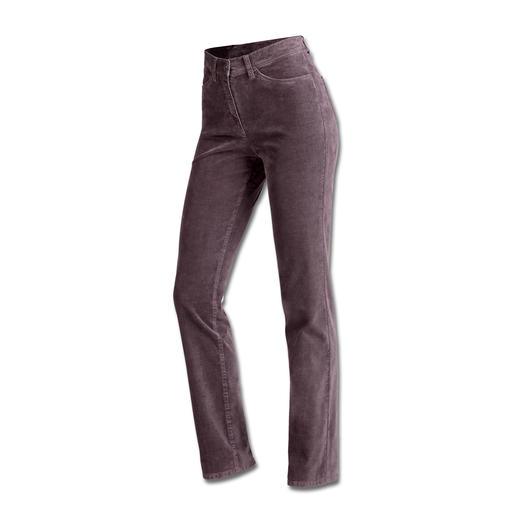 Pantalon ceinture magique en velours côtelé RAPHAELA-BY-BRAX Réserve d'aisance invisible avec effet power-stretch. Velours doux finement côtelé.
