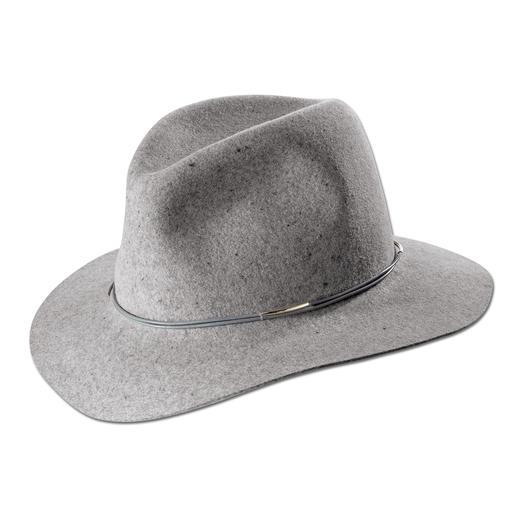 Chapeau fedora en feutre Hat Attack Flexible, résistant et naturellement déperlant.