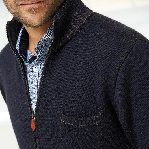 Veste en tricot baby alpaga Inis Meáin Lorsque le luxe rencontre l'art du tricot irlandais.