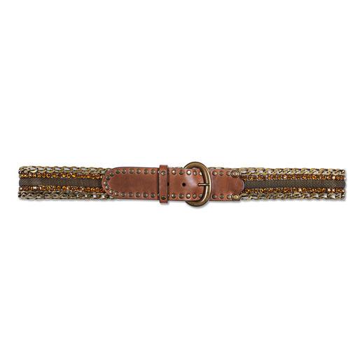 Ceinture décorative en métal Nanni Milano Non seulement une ceinture pratique, mais également un bel accessoire décoratif.