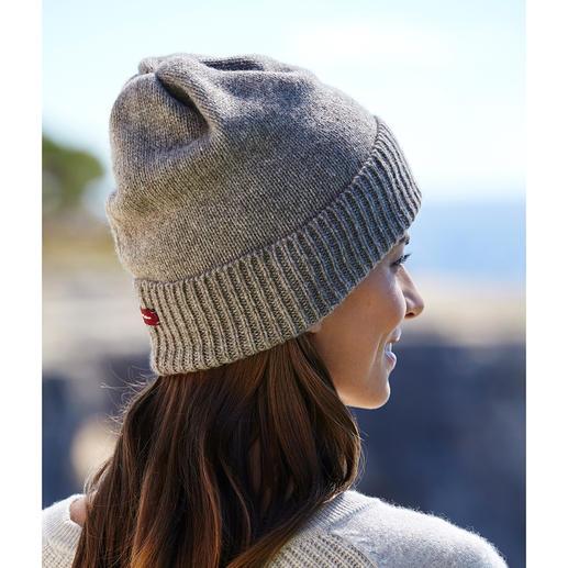 Bonnet beanie ou Écharpe yak/alpaga Toucher velouté, poids plume et chaleur agréable.
