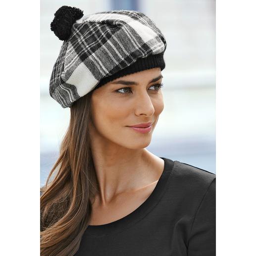 Béret écossais Lochcarron En tartan Stewart Dress caractéristique. Pure laine vierge. Fabriqué en Écosse.