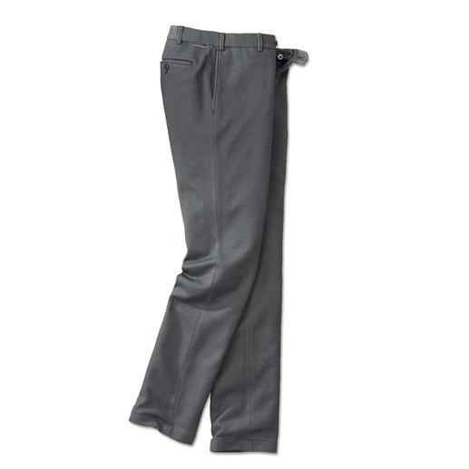 Pantalon d'affaires en jersey Hiltl Un aspect drap de laine, idéal pour le monde des affaires, mais en réalité un jersey confortable.