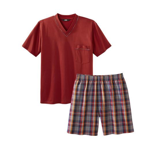 Pyjama préféré No. 24 Pur coton, travaillé avec soin, made in Germany.