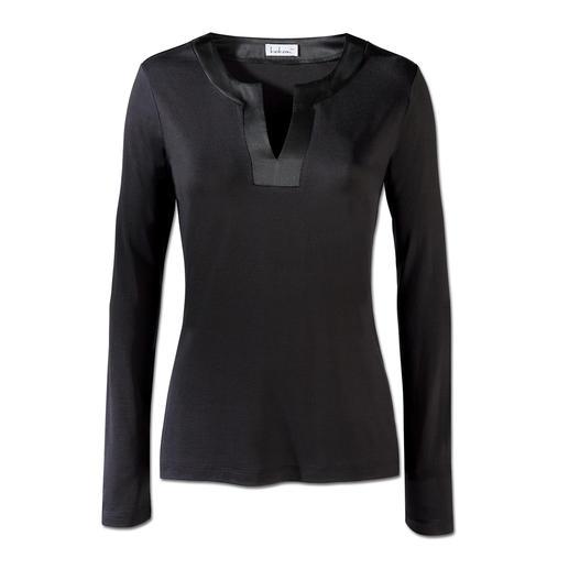 Shirt en soie Survivra à des générations de shirts bon marché. Un luxe rare avec 95 % de soie.