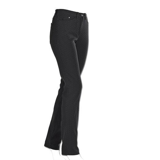 Pantalon ceinture magique RAPHAELA-BY-BRAX, Noir Votre pantalon grand confort : le pantalon avec ceinture magique. Avec effet power-stretch.