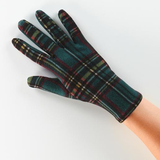 Gants en polaire Ixli Multicolores et gais au lieu d'être unis et ennuyeux. Les gants en polaire par Ixli, France.