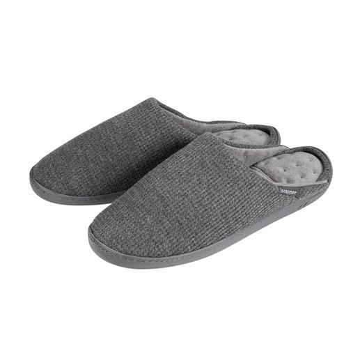 Chaussons PillowStep™ Chaussures au maintien indiscutable : avec voûte plantaire brevetée PillowStep™ en mousse à mémoire de forme.