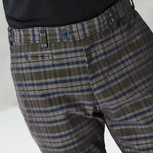 Pantalon en velours côtelé à carreaux Hoal Animé, sans être criard. Et agréablement réchauffant.