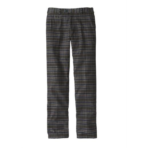 Pantalon en velours côtelé à carreaux Hoal Vivant, mais pas criard. Et juste ce qu'il faut de chaleur.
