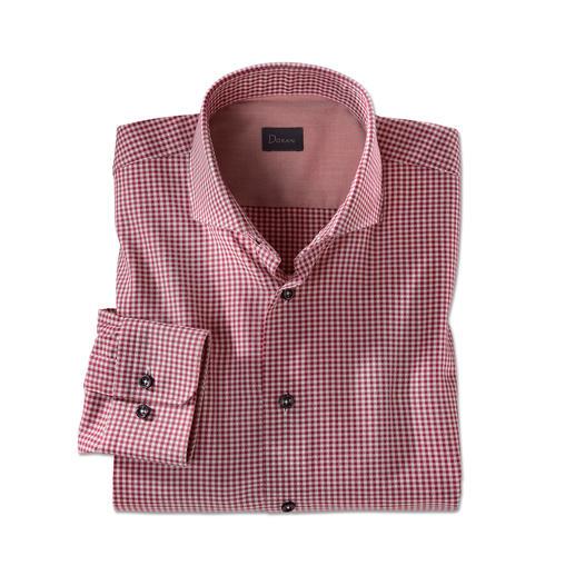 Chemise en flanelle Dorani Light, Bordeaux Aussi doux et chaud que de la flanelle mais bien plus léger, fin et facile à associer.