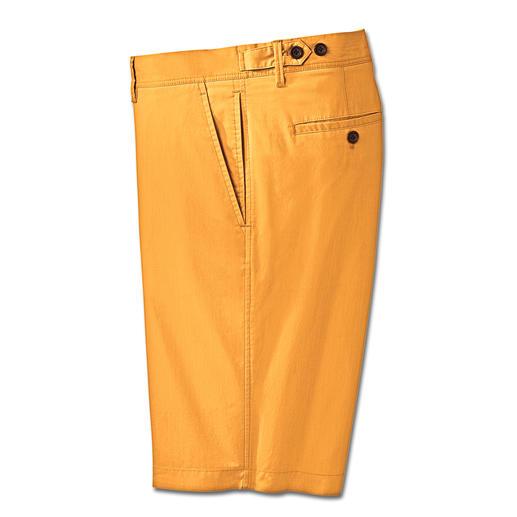 Le bermuda technique qui ne ressemble pas à un vêtement de randonnée. Le bermuda aux propriétés techniques. Climatique et traité anti-UV.