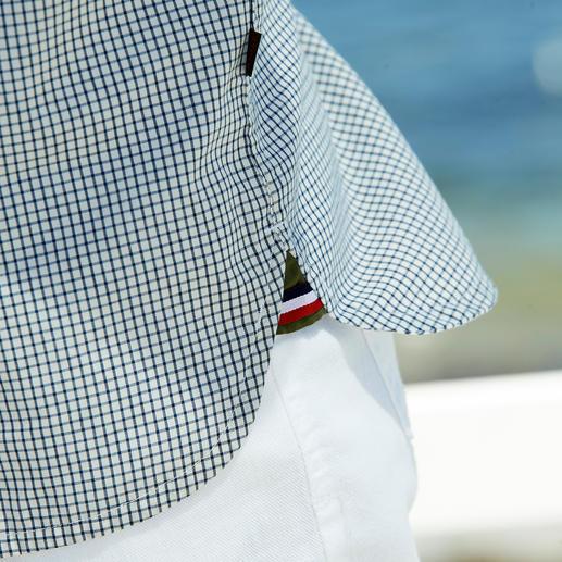 Chemise outdoor Aigle La preuve qu'un vêtement outdoor peut également être stylé. Par Aigle, France.