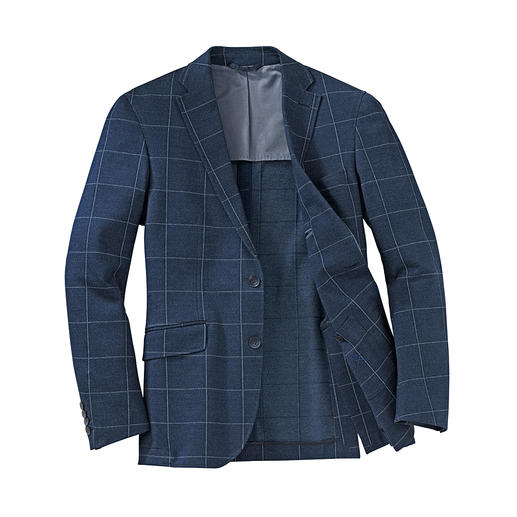 Veston en jersey Hackett Allure impeccable avec un pantalon en toile, plus décontractée avec un jean, mais toujours ultra confortable.