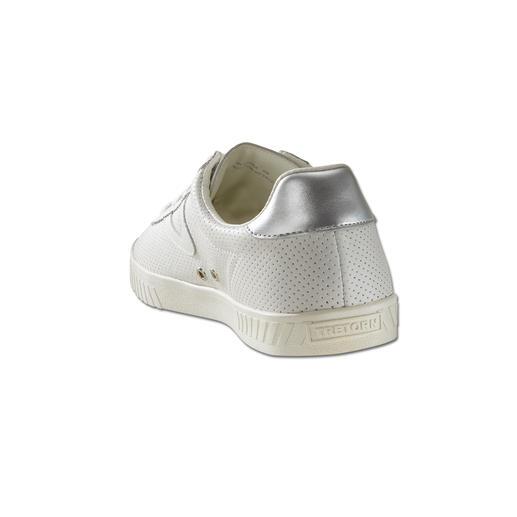 Basket en cuir « Clean Chic » Tretorn, pour femme Un favori de la mode : la basket blanche, de préférence par un spécialiste. Par Tretorn/Suède.