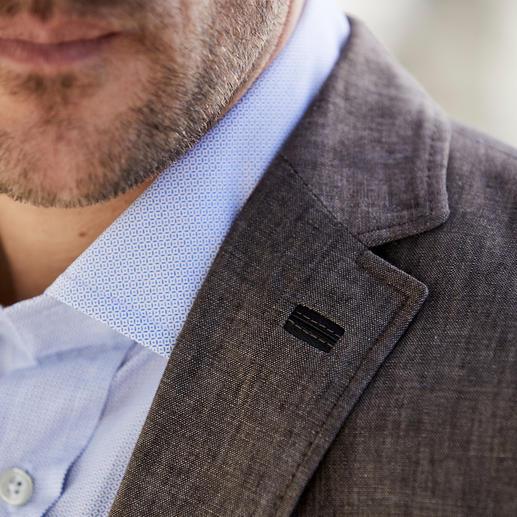 Veston ou Gilet en lin Carl Gross Un vrai gentleman – même par 30 degrés à l'ombre. Un modèle rare : le duo en pur lin.