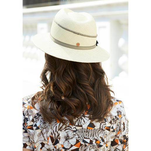 Panama femme Mayser Plus besoin de chiper son panama à votre homme.  Avec protection UV 40. Par Mayser.