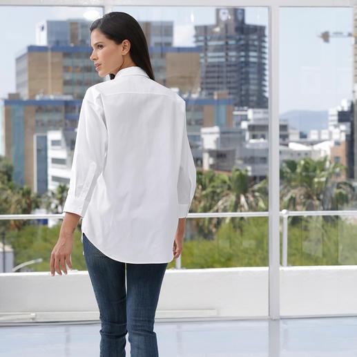 Chemisier surdimensionné van Laack Atout mode : le chemisier surdimensionné, ultra féminin et follement élégant. Par van Laack.