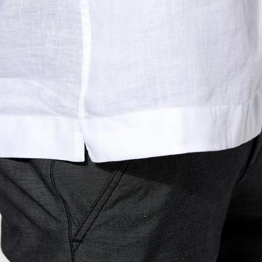 Chemise bowling van Laack La chemise bowling du gentleman. Blanc classique. En pur lin. Par van Laack.