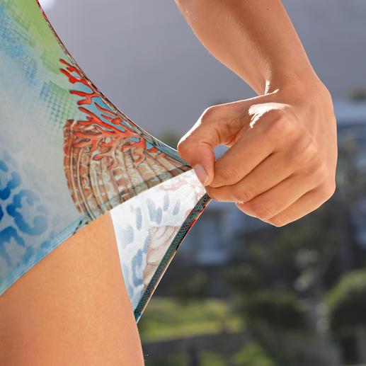 Maillot de bain SunSelect® « Corail » Un maillot de bain effet crème solaire. En SunSelect® qui laisse passer les rayons du soleil.