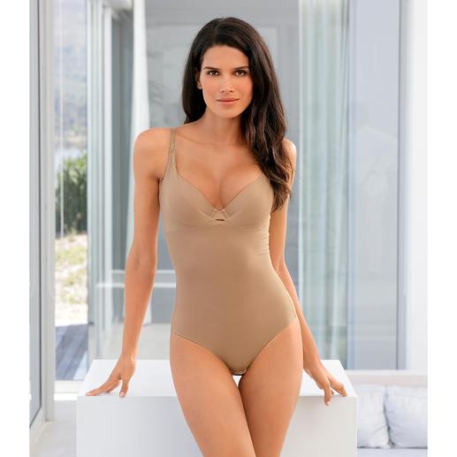 Body d'été gainant Effet gainant en douceur tout en restant léger et aérien. Le body gainant en tissu mesh respirant.
