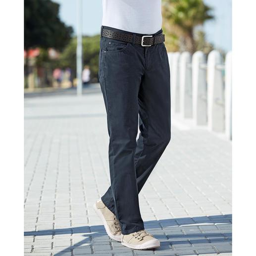 Pantalon 5 poches estival Coolmax® La sensation du coton sur votre peau. Le confort climatisé du Coolmax®. Le pantalon 5 poches de l'été.