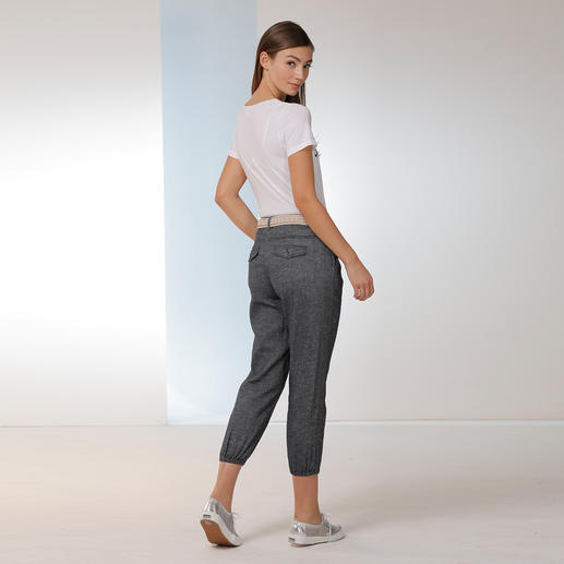 Knickerbocker en twill Luis Trenker Version alpine du jogging tendance : le knickerbocker en twill doux.
