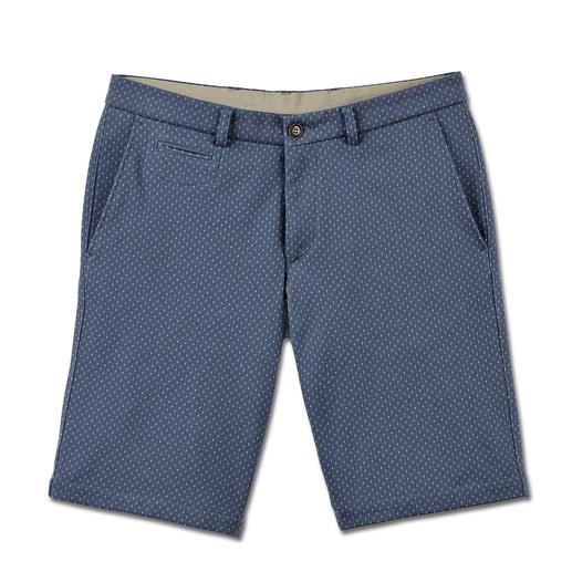 Bermuda jacquard en jersey Un bermuda aussi confortable qu'un jogging. En jersey doux au motif jacquard.