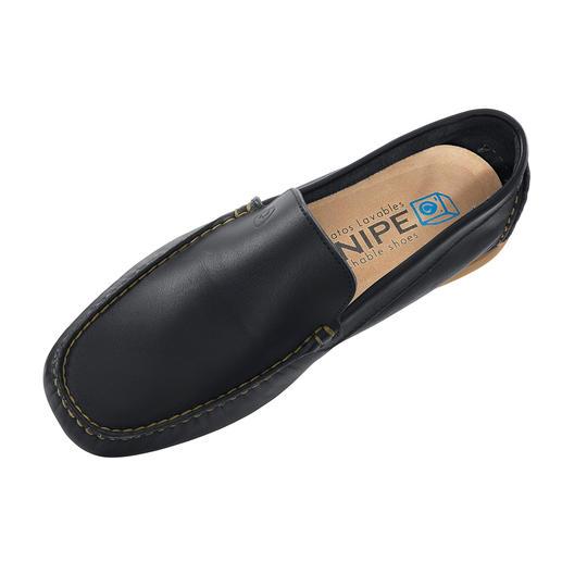 Mocassins lavables Snipe® Nettoyer vos chaussures ? Confiez cette tâche à votre lave-linge ! Par la marque culte espagnole Snipe®.