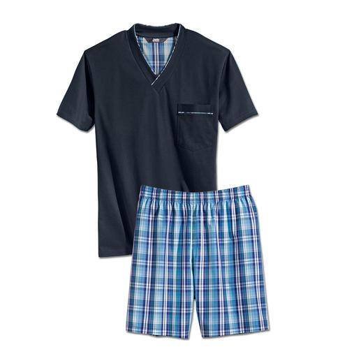Pyjama préféré Votre pyjama préféré. Pur coton, travaillé avec soin, made in Germany.