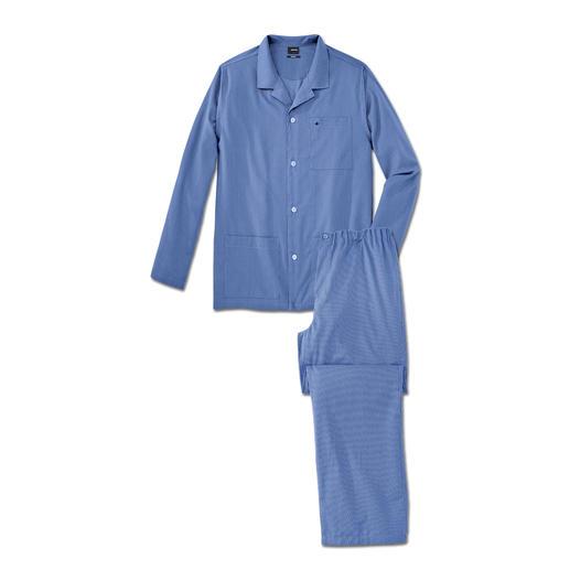 Pyjama repassage superflu Seidensticker Tous les avantages d'un bon pyjama en coton, sans corvée de repassage. Par Seidensticker.