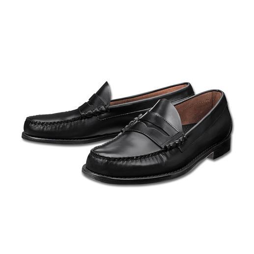 Penny loafer G. H. Bass « Weejuns » Le mocassin original, par l'inventeur du penny loafer. Les véritables « Weejuns » par G. H. Bass & Co.