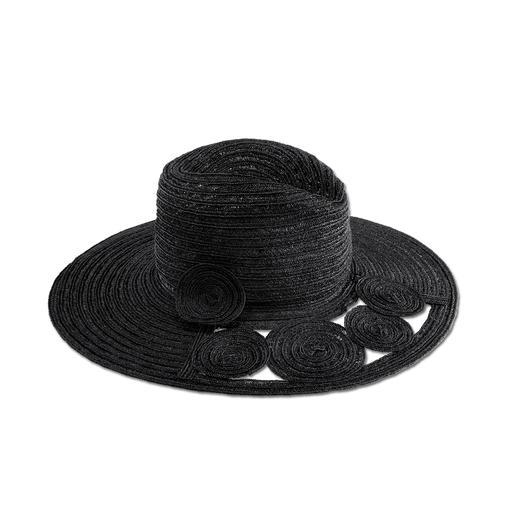 Chapeau Flapper en chanvre Mayser Style flapper : le chapeau le plus résistant parmi les chapeaux souples d'été. Par Mayser.