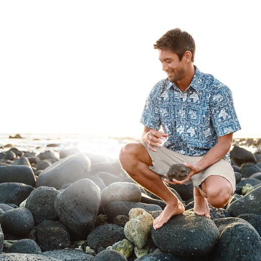 Chemise hawaïenne « Lāhainā Sailor » Reyn Spooner Une vraie chemise hawaïenne s'achète directement à Hawaï ! Quoique ...