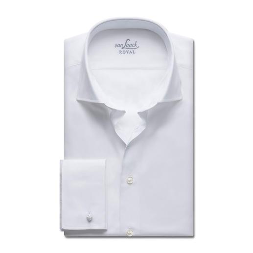 Chemise Premium Royal van Laack Taylor Fit ou Slim Fit Le meilleur coton. Une confection de toute première qualité. Facile à repasser.