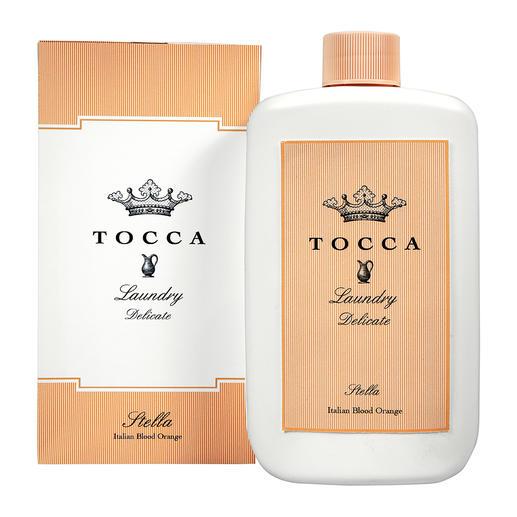 Lessive ou Eau de parfum Tocca « Stella » Vos vêtements sentent désormais comme votre parfum. Stella de Tocca : lessive et eau de parfum.