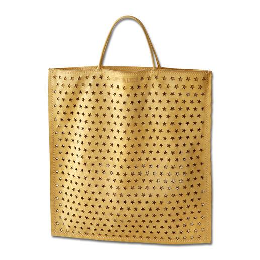Sac shopping en cuir Caterina Lucchi L'alternative stylée au sac en toile de jute : le sac shopping en cuir buffle ultra souple et doux.